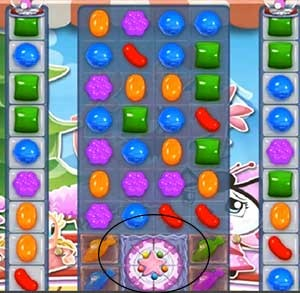 Candy crush level 372 cheats how to beat level 372 help for Candy crush fish