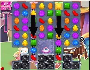 Candy Crush Level 550 cheats