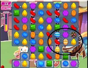 Candy Crush Level 550 help