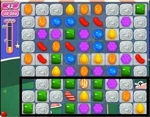 Candy Crush Level 398 cheats