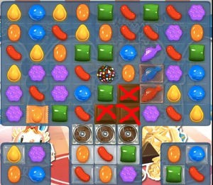 Candy crush level 485 cheats how to beat level 485 help for Candy crush fish