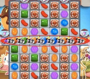 Candy Crush Level 534 tip