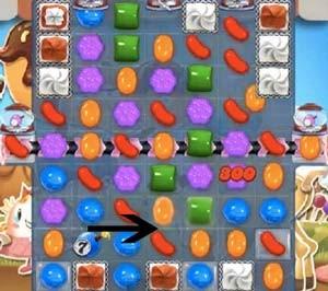 Candy Crush Level 534 cheats