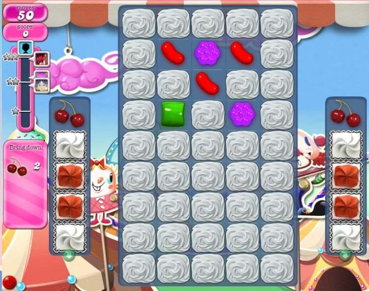candy crush level 181 cheats