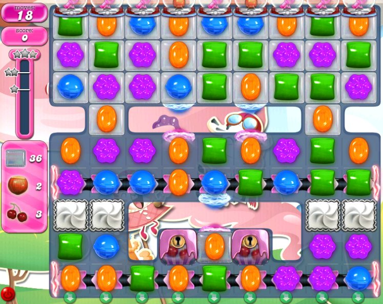 candy crush level 2297 cheats