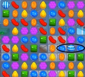 Candy Crush Level 10 tip