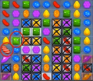 Candy Crush Level 251 cheats