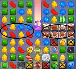 Candy Crush Level 294 cheats