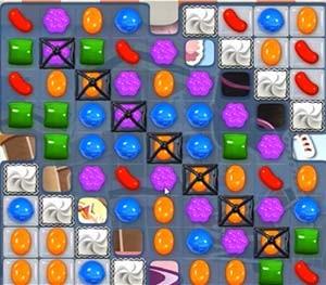 Candy Crush Level 393 cheats