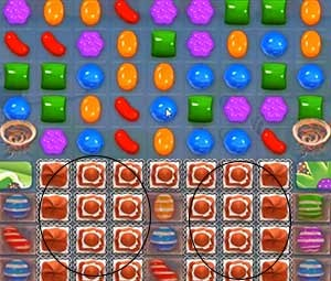 Candy Crush Level 464 tip