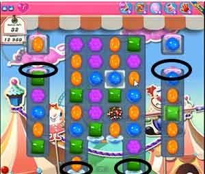 Candy Crush Level 183 cheats