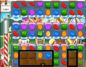 Candy Crush Level 189 cheats