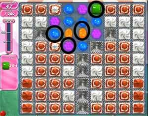 Candy Crush Level 281 cheats