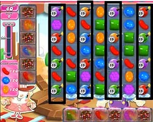 Candy Crush Level 455 tip