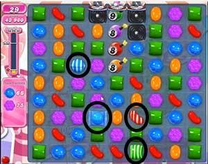 Candy Crush Level 489 cheats