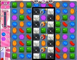 Candy Crush Level 489 tip