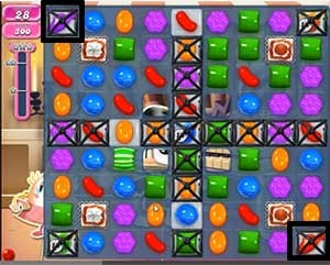 Candy Crush Level 518 cheats