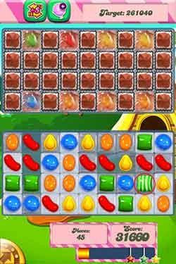 Candy Crush Level 199 cheats