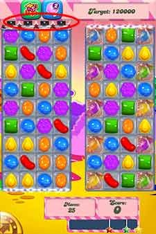 Candy Crush Level 293 help