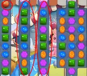 Candy Crush Level 90 cheats