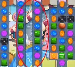 Candy Crush Level 90 help