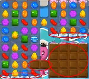 Candy Crush Level 139 cheats