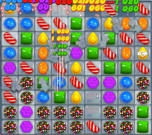 Candy Crush Level 1055 tip