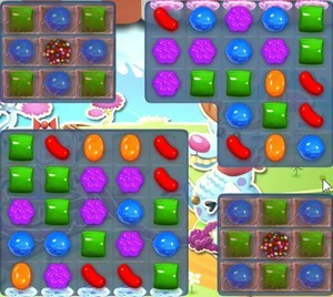 Candy Crush Level 1077 tip