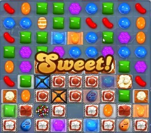 Candy Crush Level 1091 tip