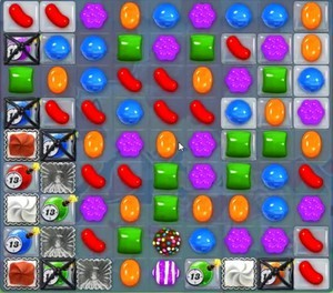 Candy Crush Level 1194 tip