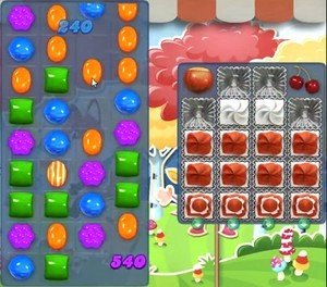 Candy Crush Level 1197 tip