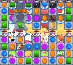 Candy Crush Level 1199 tip