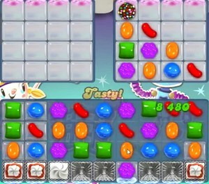 Candy Crush Level 1208 help