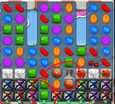 Candy Crush Level 180 cheats