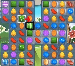 Candy Crush Level 193 cheats