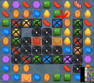 Candy Crush Level 195 tip