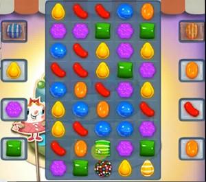 Candy Crush Level 207 cheats