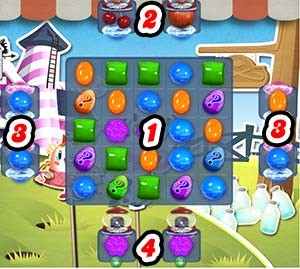 Candy Crush Level 234 tip