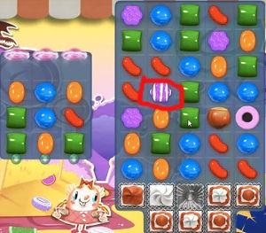 Candy Crush Level 296 help