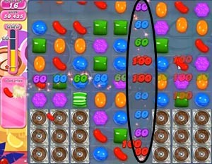 Candy Crush Level 299 help
