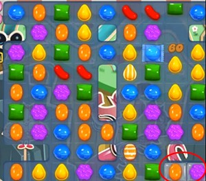 Candy Crush Level 35 cheats