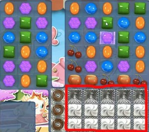 Candy Crush Level 376 cheats