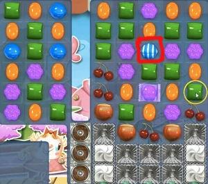 Candy Crush Level 376 help