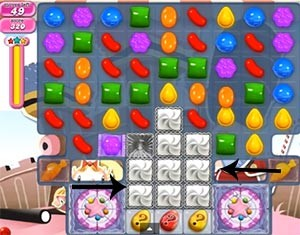 Candy Crush Level 394 tip