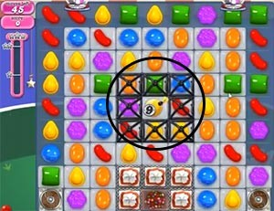 Candy Crush Level 399 tip