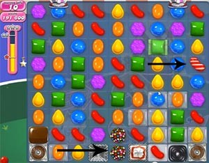 Candy Crush Level 399 help