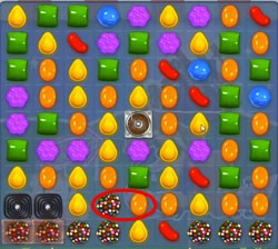 Candy Crush Level 400 cheats