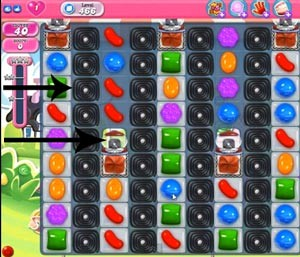 Candy Crush Level 466 tip