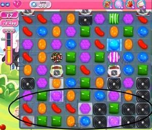 Candy Crush Level 466 help