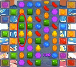 Candy Crush Level 473 cheats